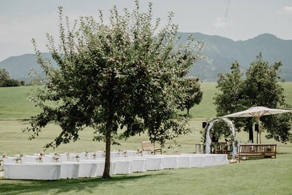 Freie Trauung im Apfelbaumgarten